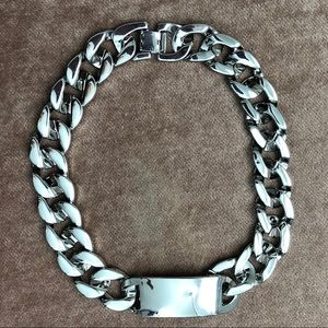 ASOS Chunky Silver Necklace ✨ NWOT